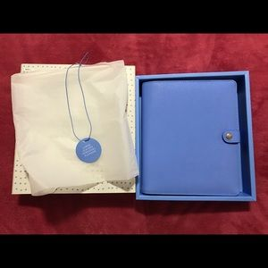 Leather Personal Planner Large: Cobalt